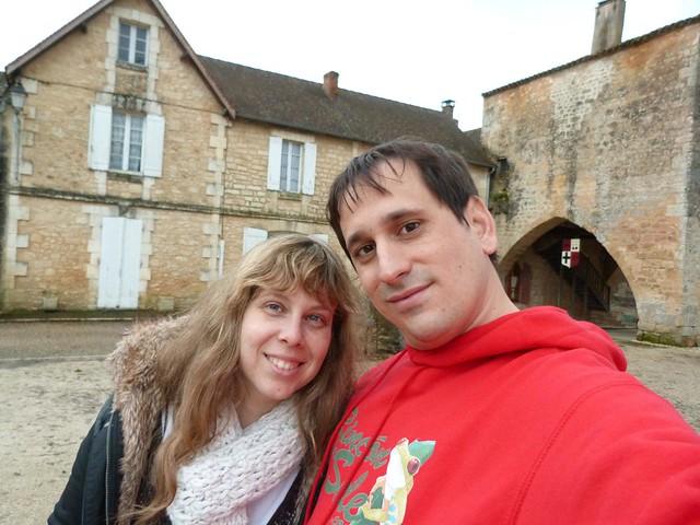 Rebeca y Sele en Moliéres (Périgord, Francia)