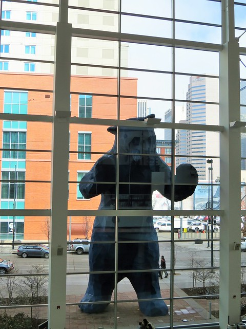 Blue Bear at the Colorado Convention Center
