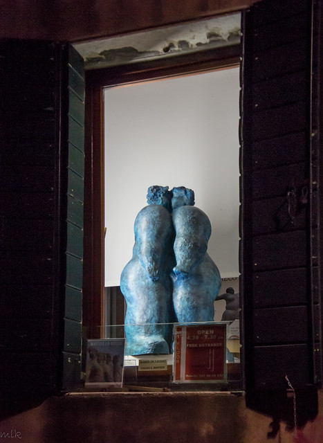 A store window. Venice 2014
