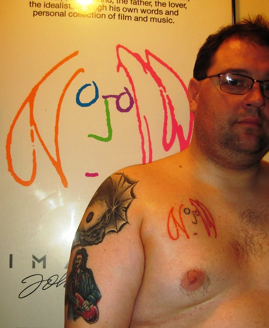 John Lennon Self Portrait Tattoo Ink Beatles Imagine Flickr