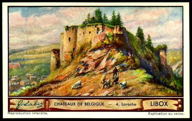 Liebig Tradecard S1288 Belgian Chateaux ~ Laroche