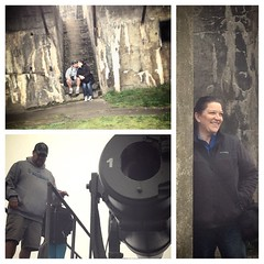 Enjoying ourselves on our little adventure. Fort Casey State Park. #historylesson #lighthouse #staycation