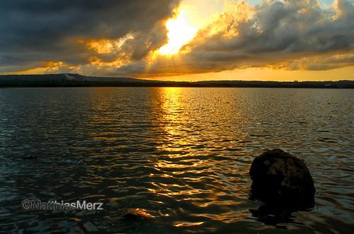 sunset sky cloud lake water kenting roctaiwan longluanlake