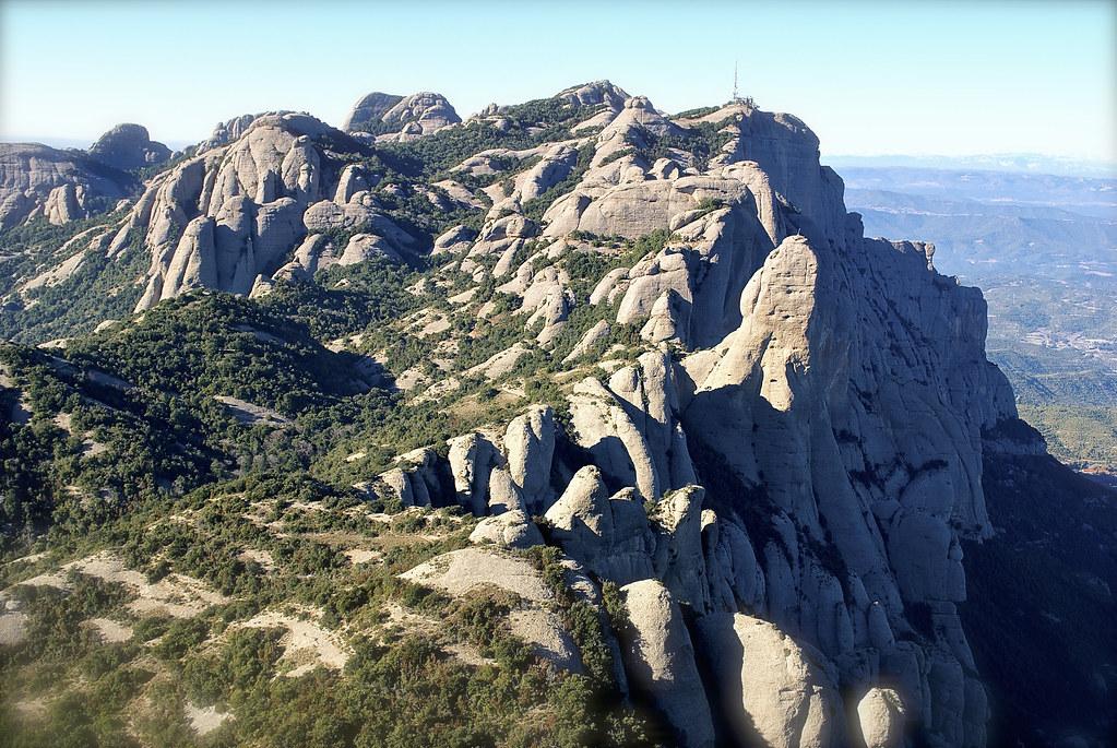 Montserrat, sol (sud) i ombres (nord) 2