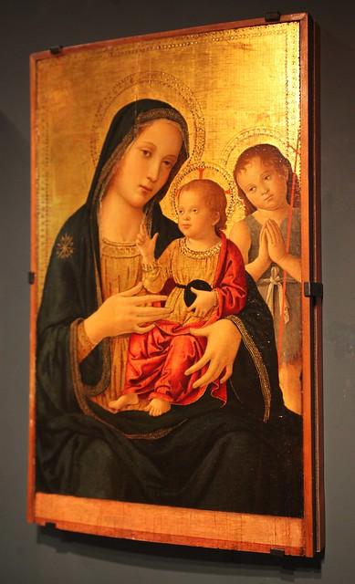 [ R ] Antoniazzo Romano - Virgin and Child (c.1490)
