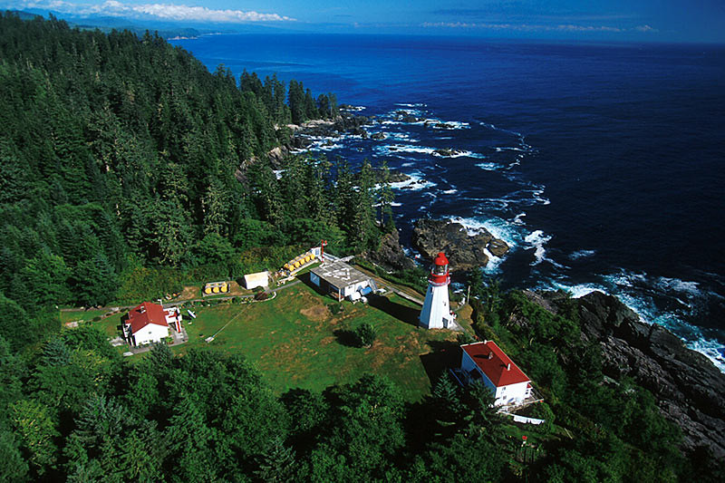 Pachena Point Lighthouse, Bamfield, West Coast Vancouver Island, British Columbia