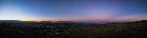 blue trees sunset newzealand sky panorama lake mountains river clyde hills southisland otago centralotago alexander bigcountry clydedam manuherikia hawkdunrange dunstanrange