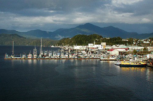 Government Wharf, Prince Rupert, West Coast of Northern British Columbia, Canada