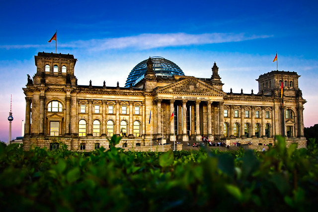 Houses of parliament - Reichtag, Berlin Germany