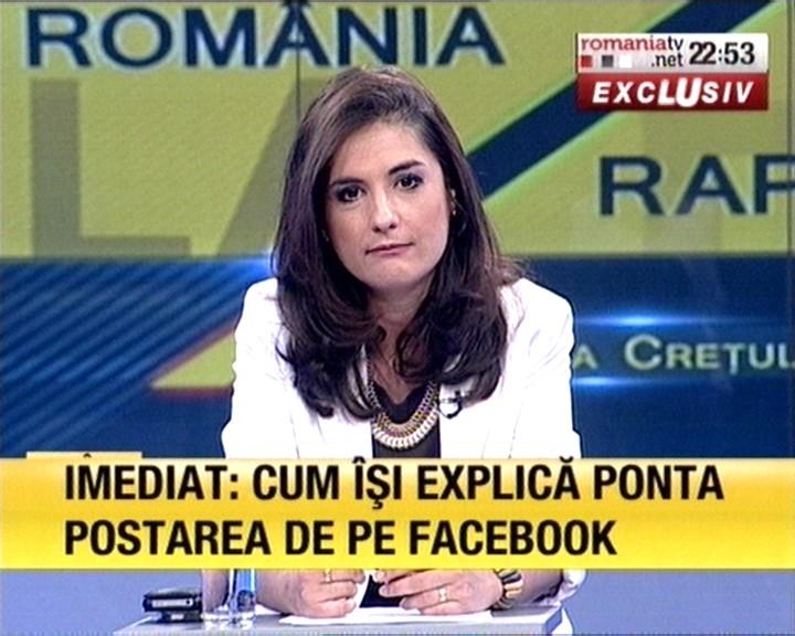 Andreea Cretulescu - Romania TV | ANTI USL | Flickr