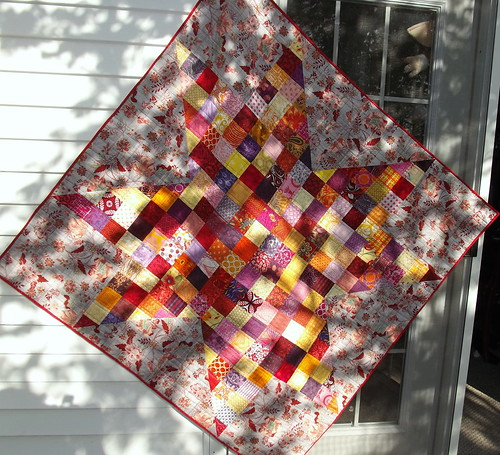 Patchwork Star - Finished | by Grey Cat Quilts