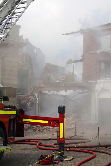 Massive fire in Fakenham 3