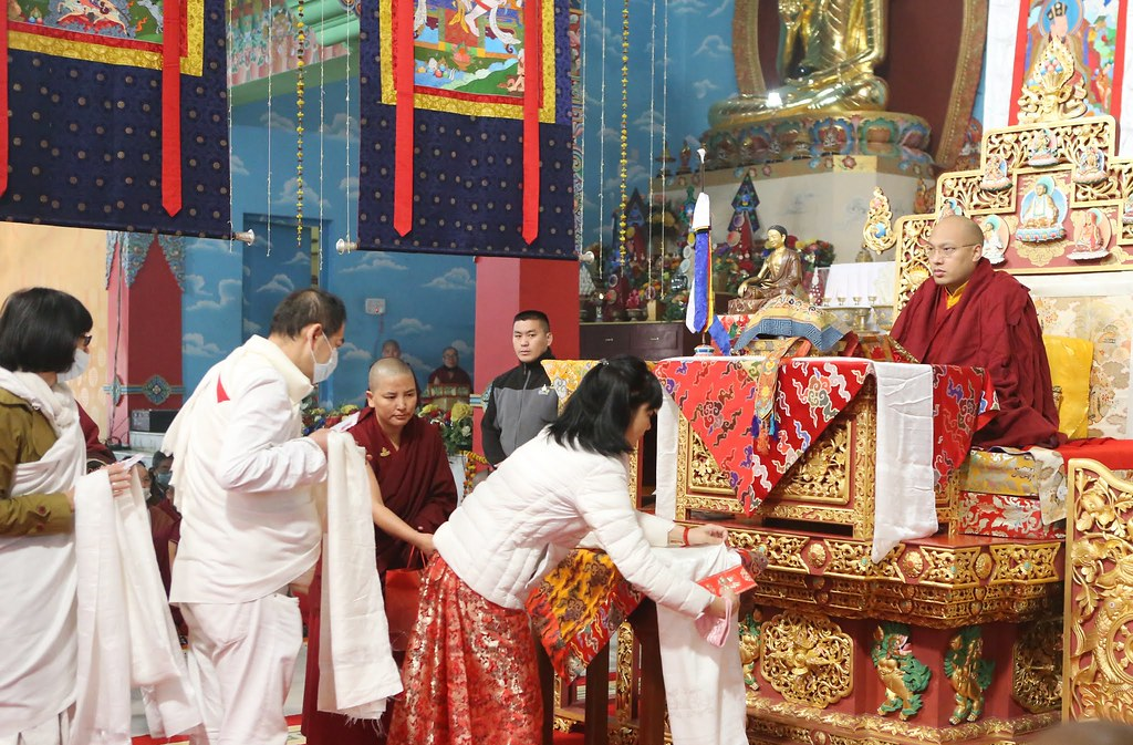 2016.01.26 The Nuns Engage in the Practice of Karma Pakshi and the Five Tsheringma