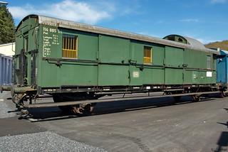 252b - Packwagen 114 885 Tri Bw Gerolstein