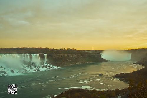 sunset toronto ontario canada niagarafalls waterfall buffalo dusk gorge horseshoe hdr highdynamicrange