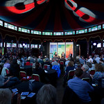 Blueprint debate about copyright in our Guardian Spiegeltent |