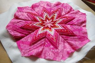 Fancy Folded Star in PINK