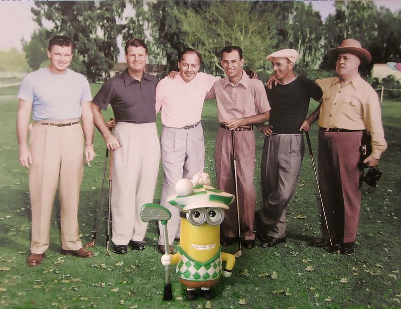 Minion Golfer
