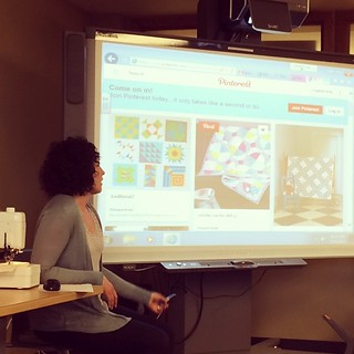 We like to start our #BoiseMQG meetings with some inspiring modern quilting!