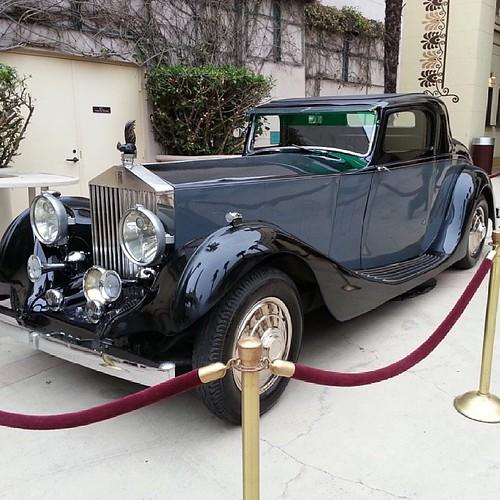 1934 Rolls Royce!