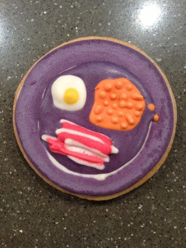 Breakfast biscuit