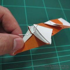 วิธีพับกระดาษเป็นรูปหมี (Origami Bear) 028