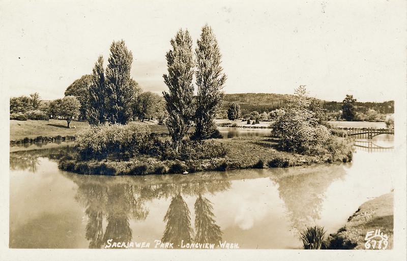 Old Lake Sacajawea Photo