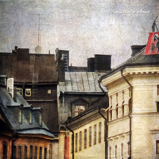 Rooftops of Stockholm