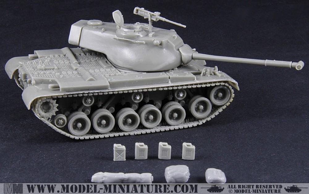 M-47 Patton in 1/72 scale | www model-miniature com/product