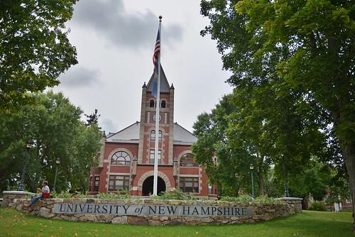 Thompson Hall, University of New Hampshire | by WorldofArun
