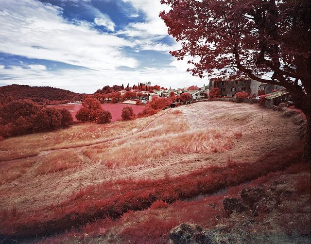 Tourtour village, France