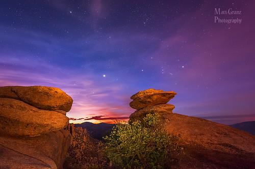 morning arizona mountain sunrise stars landscape dawn tucson hoodoos mountlemmon
