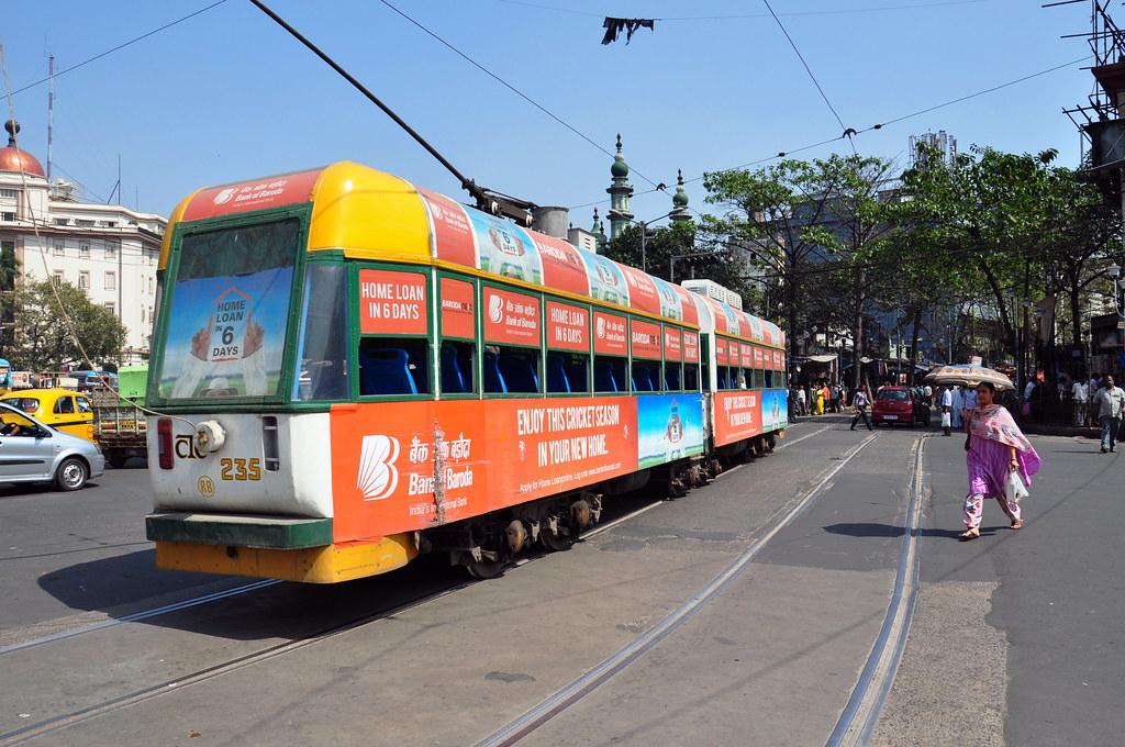 India - West Bengal - Kolkata - Tram - 23