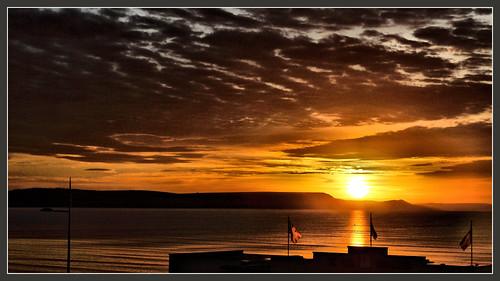 clouds sunrise skies dorset weymouth seaviews weymouthbeach