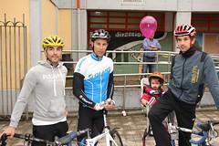 De izquierda a derecha Aitor Galdós, Pedro Horrillo y Aitor Hernández.