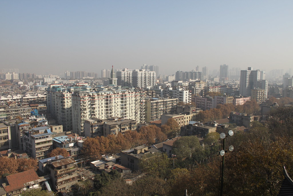 Wuhan, Viewed from Yellow Crane Tower