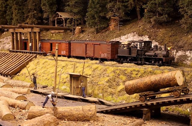 Mumby lumber mill @ Euromodelbouw 2013