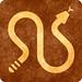 Sepia Grunge Sign - Rattlesnake Caution