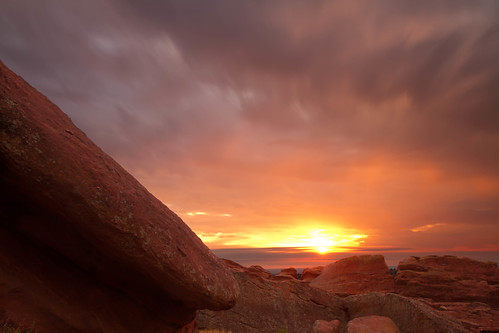 longexposure morning sky sun clouds sunrise landscape dawn colorado denver le redrocks morrison