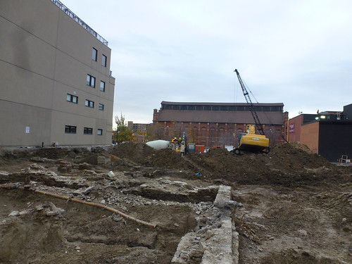 Pano parts of construction in what was the old Toronto Sun's parking lots, 2013 11 06 (13) | by booledozer