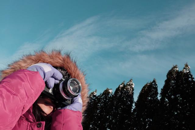 Freeze frame of the freezing