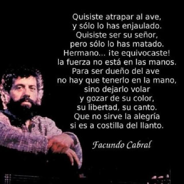 Frase De Facundo Cabral Facundocabral Frases Quotes Im