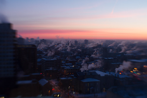 winter ontario canada cold sunrise dawn ottawa pinksky vapour myhometown morninghasbroken viewfromahotelwindow dawnofanewday canoneos7d canon7d viewfromthe21stfloor sweet35optic lensbabycomposerpro