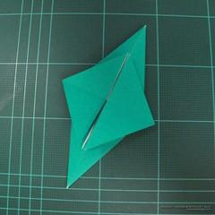 วิธีพับกระดาษเป็นรูปหมู (Origami Pig) 001