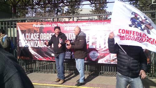 Entrega de Acuerdo Marco Ramal 2015 a Codelco División El Teniente