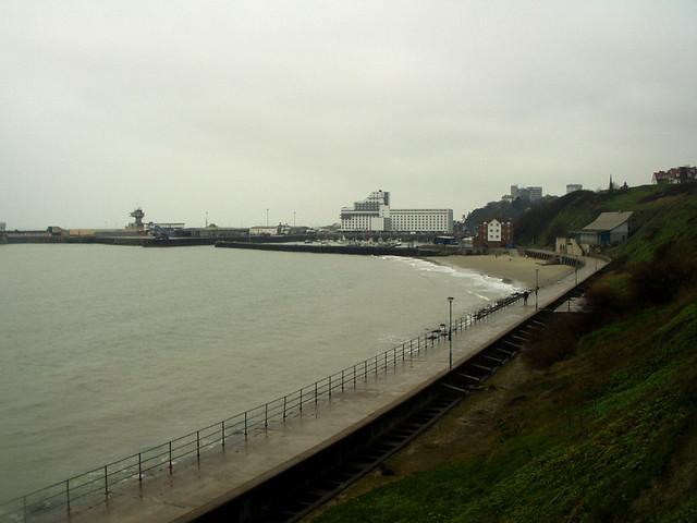 View back to Folkestone