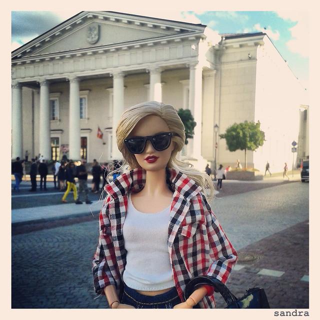 Barbie & Instagram. Ayuntamiento de Vilna.