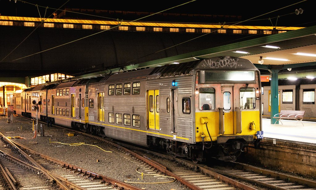 C3063 at Sydney Terminal by Trent