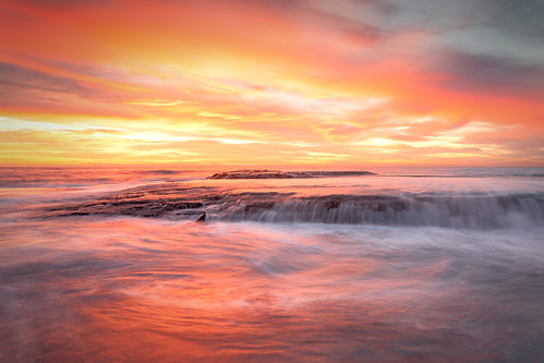 seascape colors rock sunrise flow colours australia nsw northernbeaches bilgola bestofaustralia
