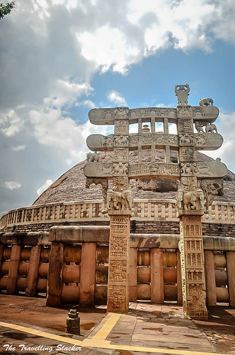Sanchi Stupa  (24) | by travelling slacker